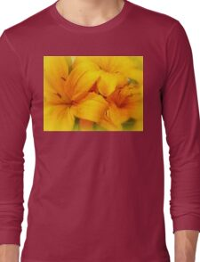 Orange Crush Long Sleeve T-Shirt