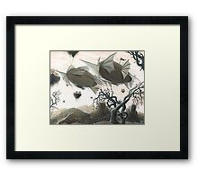 Lost City Framed Print