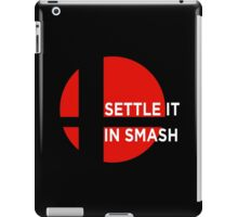 Settle It In Smash iPad Case/Skin