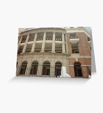 A grand Majestic ancient building Greeting Card
