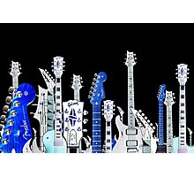 guitar city Photographic Print