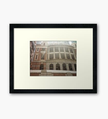 A towering part of history Framed Print