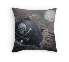 Red Queen Throw Pillow