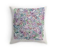 ShapeTangle Throw Pillow
