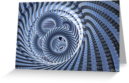 Magic Blue Whirl by Eric Nagel