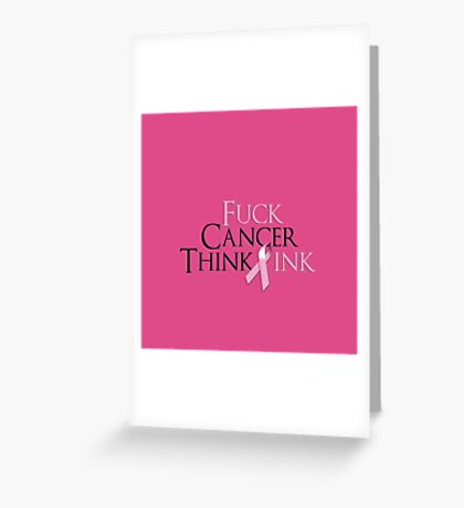 Breast Cancer Awearness Greeting Card