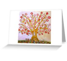 Cherry Tree Party Greeting Card