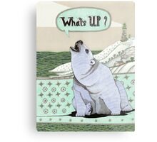 What's Up Bear Metal Print