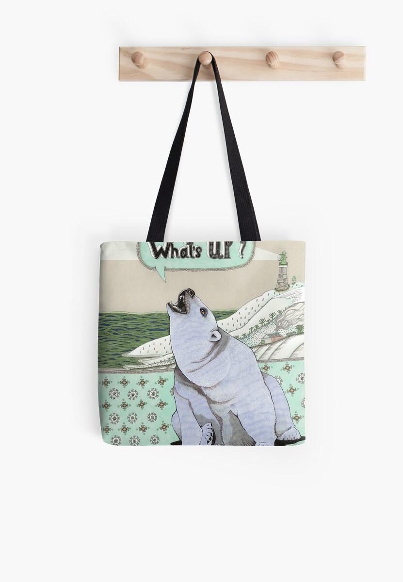 What's Up Bear by Yuliya Art