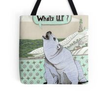 What's Up Bear Tote Bag