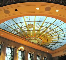 Skylight, Buffalo City Hall by Ray Vaughan
