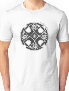 Celtic Knot n1 Black Unisex T-Shirt