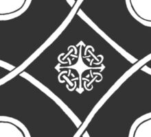 Celtic Knot n1 Black Sticker