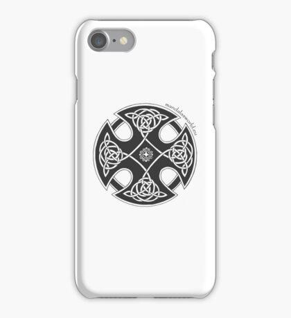 Celtic Knot n1 Black iPhone Case/Skin
