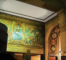 Lobby Mural, Buffalo City Hall by Ray Vaughan