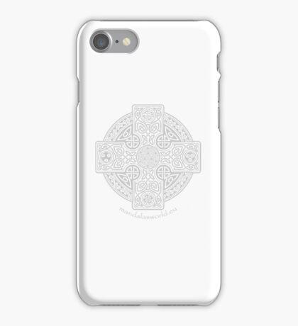 Celtic Cross n1 Light iPhone Case/Skin