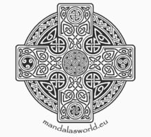 Celtic Cross n1 Dark by Mandala's World