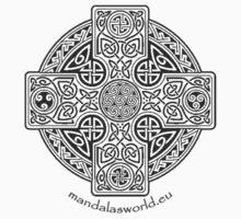 Celtic Cross n1 Dark Kids Clothes