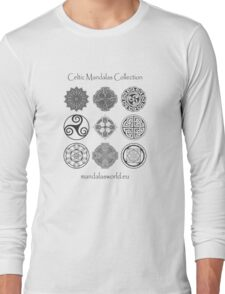 Celtic Collection Black Long Sleeve T-Shirt