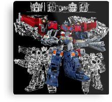 Cybertron Optimus Prime Metal Print