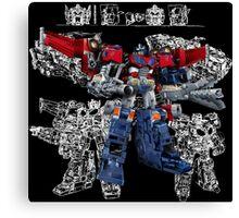 Cybertron Optimus Prime Canvas Print