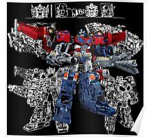 Cybertron Optimus Prime Poster
