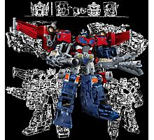Cybertron Optimus Prime Photographic Print