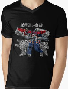 Cybertron Optimus Prime Mens V-Neck T-Shirt
