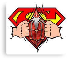 secret superman Canvas Print