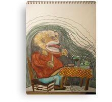 The Gluton Canvas Print
