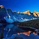 Valley of the Ten Peaks by Rick Louie