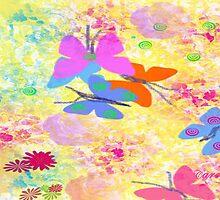 Dancing Butterflies by Carol Rudd