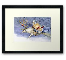The Winter Changeling Framed Print