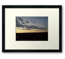Summer in Migennes - July 2011 Framed Print