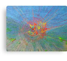 Super spillage  Canvas Print