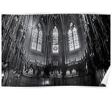 Thistle Chapel, St Giles Cathedral, Edinbrugh Poster