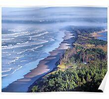 Oregon's Pacific Coastline  Poster