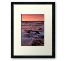 Burns Beach Sunset Framed Print