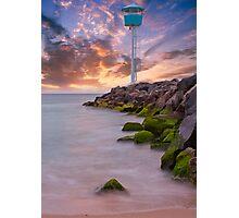 City Beach Surf Life Saving Tower Photographic Print
