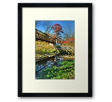 White Water State Park Framed Print