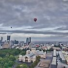 Hot Air Balloon Flight over Melbourne & Carlton by JenniferW