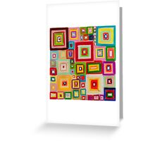 Woven composition Greeting Card