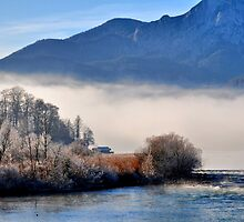 cold nature & two barns by Daidalos