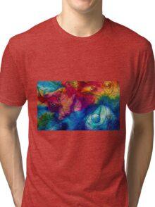 Color Splash Tri-blend T-Shirt