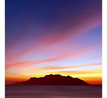 Island Nightlife Photographic Print