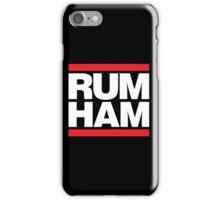 Rum Ham - Always Sunny in Philadelphia iPhone Case/Skin
