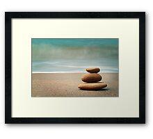 Seaside Serenity Framed Print