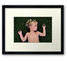 Teggy Framed Print