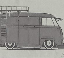 Panel Van by Sharon Poulton