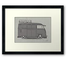 Panel Van Framed Print